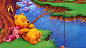 Pooh And Piglet River Fishing ...