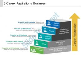 Example Of Career Aspiration 5 Career Aspirations Business Example Of Ppt Presentation
