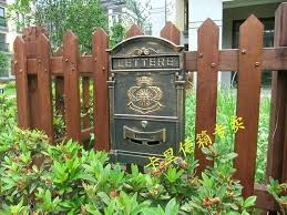 wall mailbox with lock the sun pattern bronze mailbox vintage cast aluminum wall mount mailbox mail wall mailbox with lock