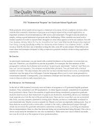statement of purpose graduate school sample template best   grad school statement of purpose