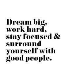 Famous Quotes About Dreaming Big Best of Dream Big And Work Hard Quotes Pinterest Dream Big Work Hard