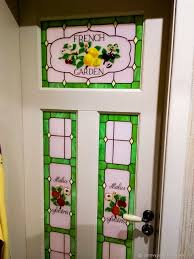 order stained glass window in the door tiffany with fusing french interior