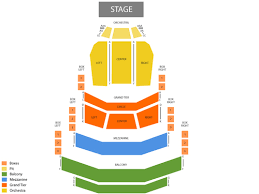 Blumenthal Seating Chart Hello Dolly Tickets At Belk Theatre Blumenthal Pac On July 9 2019 At 7 30 Pm