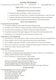 Skills And Abilities Resume Example Essayscope Com