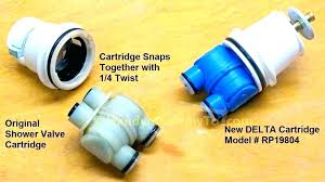 shower faucet cartridge replacement delta monitor shower cartridge replacement delta shower cartridge old and new delta