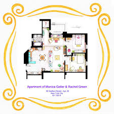 Small Picture An artist recreated the floor plans for these 9 TV homes and the