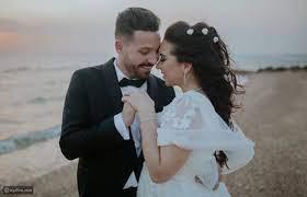 الصور الأولى لحفل زفاف أسما شريف منير ومحمود حجازي - ليالينا