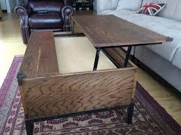 custom made lift top coffee table