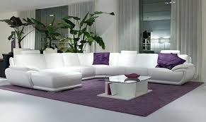 white sofa set designs view in gallery white leather sofa with purple black and white sofa