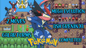 DOWNLOAD] New Completed Pokemon Gba Rom Hack with Z Moves, Ash Greninja,  Mega Evolution, Galar Form - YouTube