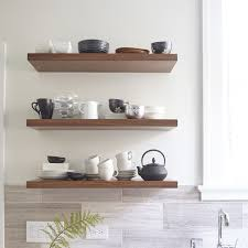 Floating Shelve Brackets Kitchen Floating Kitchen Shelves Decorating With Ways To 95