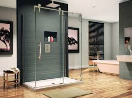 Diy Shower Design Bathroom Shower Ideas With Transparent Glass Door Diy Stall