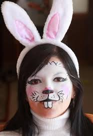 Small Picture The 25 best Bunny face paint ideas on Pinterest Cat face
