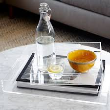 Acrylic Decorative Tray Acrylic Trays west elm 2