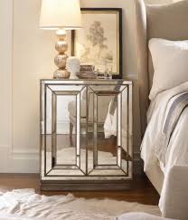 Fascinating Furniture Mirrored Nightstand Tar Mirrored Dresser
