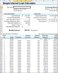 Loan Amoritization Amortization Table Excel Template Loan Repayment Schedule Excel