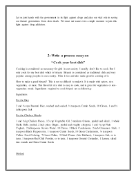 a process essay about cooking process essay on how to bake a cake example of writing