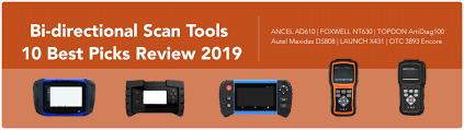 Bi Directional Scan Tools 10 Best Picks Review 2019 Obd