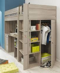 Gami Largo Loft Beds for Teens Canada with Desk & Closet | Xiorex Gami  Largo Teen