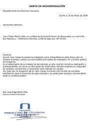 Ejemplo De Cartas De Recomendacion Laborales Modelo De Carta De Recomendacion Laboral Cartas De
