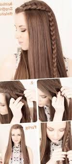 Coiffure Facile A Faire Soi Meme Pour Cheveux Mi Long Luxe