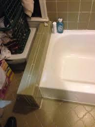 before walk in tub