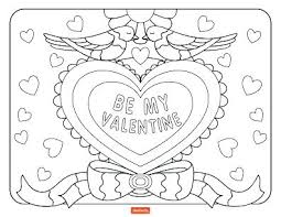 valentines day coloring pages for dad.  Dad Good Happy Valentines Day Coloring Page And Pages  Plus Be My Valentine To  Intended Valentines Day Coloring Pages For Dad E