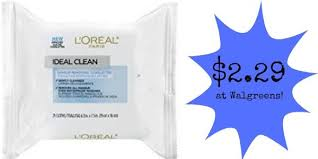 walgreens l oreal makeup remover wipes only 2 29
