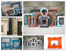 Empty vintage frames on etsy
