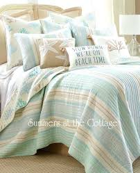 full image for beach themed king size duvet covers seaside cottage sea glass blue c reef