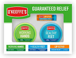 O'Keeffe's Giftbox Including <b>Cooling Relief Lip Repair</b> Stick, Working ...