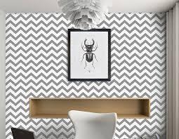 contemporary chevron self adhesive wallpaper
