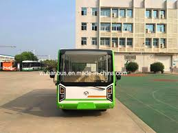 Driving Range Design China Pure Electric 19 23seater Sightseeing Bus With Long