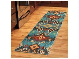 aztec print runner rug rugs