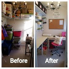 walk in closet office. My Craft Room Is The Size Of A Closet, Well Literally It Was Walk In Closet Office T