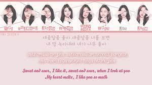 Lovelyz 러블리즈 - Sweet and Sour 새콤달콤 Lyrics [ Romanization / Hangul /  Translation ] Chords - Chordify