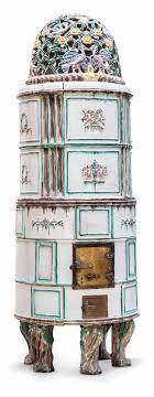 Art Deco Kachelofen Gmundner Keramik Werkstätte Um 192530