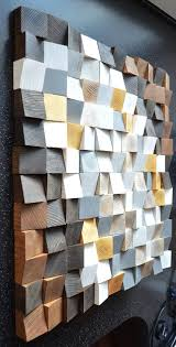 geometric wood art wood art 3d wall art abstract painting on wood wood wall art