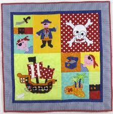 Pirate Party Cot Quilt... $135 | A: Beach/lake/ocean/sea ... & Pirate Party quilt pattern by hot possum Adamdwight.com