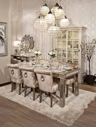 Elegant Lighting Mirrored Furniture Dining Opulent Soft And Sophisticated Style Harmoniously