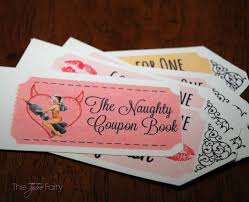 Diy Coupon Book Free Printable Diy Naughty Coupon Book For Valentines Day The