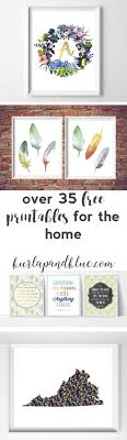 free printables for the home {over 50 home, nursery, and kitchen  printables!}