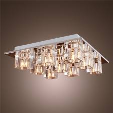 led ceiling light fixtures rectangular semi flush mount lighting modern fixture