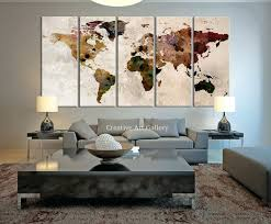wall art ideas for office. office wall art canvas amazon large print rustic world map ideas for