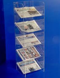 Newspaper Display Stands Unique Newspaper Displays Collins Plastics Ltd