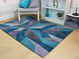 eternity teal rug