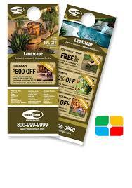 11 Lawn Service Door Hangers Dni America Flyer Gallery