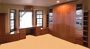 murphy bed office. Murphy Bed Office Furniture Cherry Desk Combo Costco