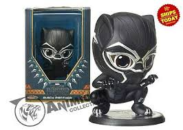 BLACK PANTHER COSBABY BOBBLEHEAD Figure <b>Hot</b> Toys ...