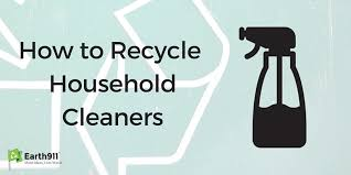 How To Recycle Household Cleaners Earth911 Com